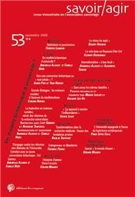 Revue Savoir/Agir n° 53