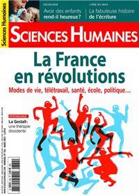Sciences Humaines N°334 - La France en révolutions - Février 2021