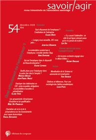 Revue Savoir/Agir n° 54