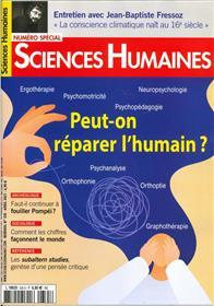 Sciences Humaines N°335 - Peut-on réparer l´humain ? Mars 2021