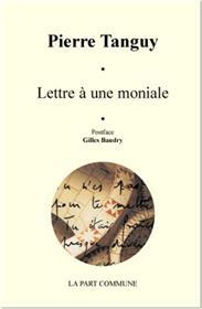 Lettre À Une Moniale.