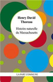 Histoire Naturelle Du Massachussetts
