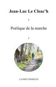 Poétique De La Marche
