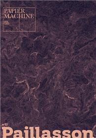 Papier Machine N°11 - Paillasson - Avril 2021