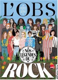 L´Obs HS n°106 - A la rencontre des légendes du rock
