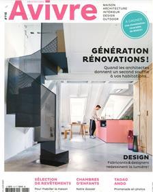 Architectures à Vivre n°118 - Génération rénovations