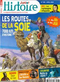 Histoire Junior n°106 - La route de la soie - Avril 2021