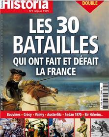 Historia n°895-96 : Les batailles qui ont fait et défait la France - Juillet/Août 2021