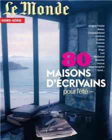 Le Monde HS n°77 : 80 maisons d´écrivains - Juillet 2021