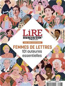 Lire magazine littéraire HS N° 6 - Femmes de lettres - 101 auteures essentielles