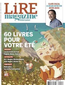 Lire Magazine Littéraire n°498 - Juillet/Août 2021 : Les écrivains du Sud + 60 livres pour l'été