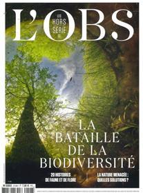 L´Obs HS n°109 : Bataille de la biodiversité - Juillet 2021