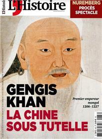 L´Histoire n°483 - Gengis Khan, la Chine sous tutelle - Mai 2021