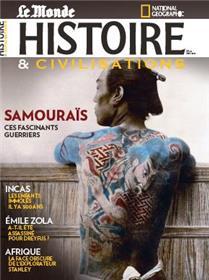 Histoire & Civilisations n°72 : Samouraïs, fascinants guerriers - Mai 2021