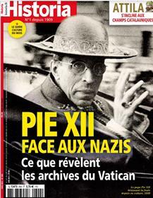 Historia n°894 : Pie XII contre les nazis - Juin 2021
