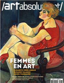 Art absolument n°96 - Femmes en art - mai 2021