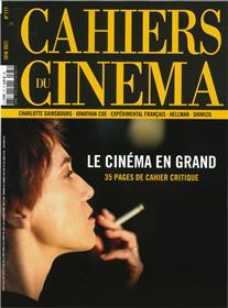Cahiers du cinéma n°777 Le cinéma en grand - Juin 2021