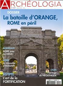 Archéologia n°597 - La bataille d´Orange - avril 2021