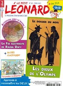 Le Petit Léonard n°267 - Les dieux de l´olympe - Avril 2021