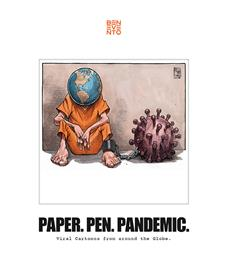 Paper. pen. pandemic
