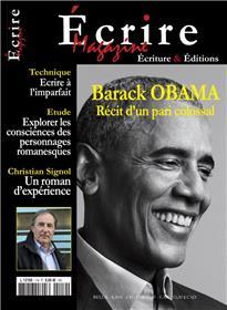 Écrire Magazine n°119 Barack Obama