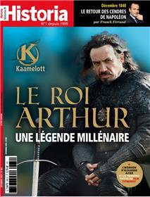 Historia mensuel N°888 - Le roi Arthur, une légende millénaire - décembre 2020