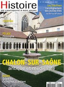 Histoire de l´Antiquité à nos jours n°113 - Chalon sur Saone - Janvier 2021
