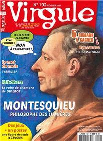 Virgule n°192 - Montesquieu, un philosophe des Lumières - Février 2021