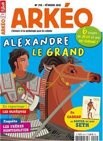 Arkéo Junior n°292 - Alexandre le Grand - Février 2021
