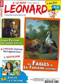 Le Petit Léonard N° 266 - Louis Pasteur - mars 2021
