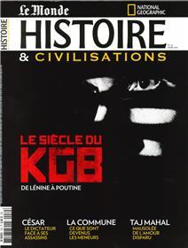 Histoire & Civilisations n°70 - Le siècle du KGB, de Lénine à Poutine - Mars 2021