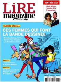 Lire Magazine Littéraire n°493 - Ces femmes qui font la bande-dessinée - Février 2021