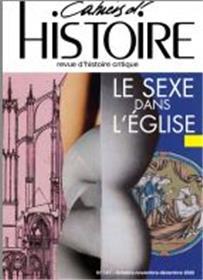 Cahiers d´Histoire n°147 : Le sexe dans l´Eglise - Janvier 2021
