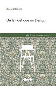 De la poétique en design