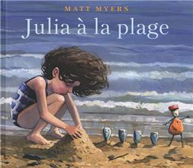 Julia à la plage