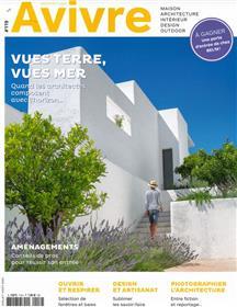 Architectures à Vivre n°119 - Vues terre, vues mer : Juillet 2021