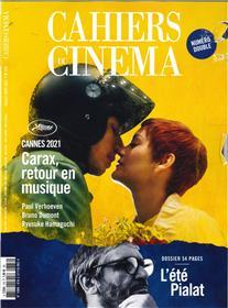 Cahiers du cinéma n°778 Cannes 2021 - Juillet/Août 2021