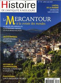 Histoire de l'Antiquité à nos jours N° 116 : Le Mercantour - juil/aout 2021