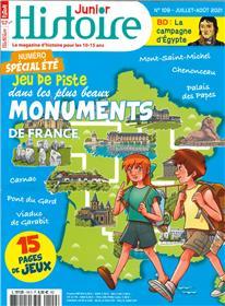 Histoire Junior N° 109 : Spécial jeux - juil/aout 2021