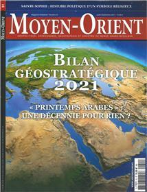 Moyen-Orient N°51 Bilan  géostratégique 2021  : Juillet/Août/Septembre 2021