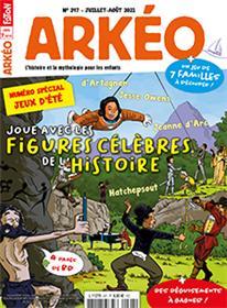 Arkéo Junior N° 297 : Spécial jeux - juil/aout 2021