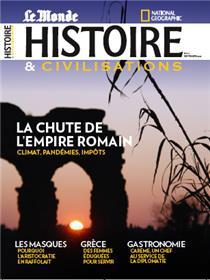 Histoire & Civilisations n°75 : La chute de l´empire romain - Septembre 2021