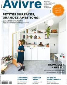Architectures à vivre n°120 : Petits espaces, grandes ambitions - Septembre 2021