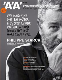 L'Architecture d'Aujourd'hui n°444 : Philippe Starck, rédacteur en chef invité