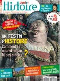 Histoire Junior n°111 : Festins d´histoire - octobre 2021