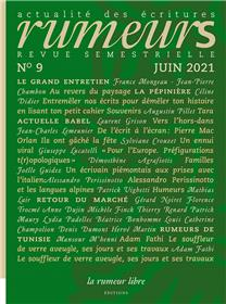 Revue Rumeurs n°9 Juin 2021