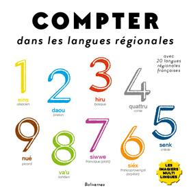 Compter dans les langues régionales