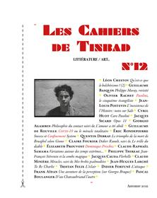 Les Cahiers de Tinbad n°12