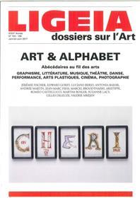 Ligeia N°153/156 Art &  Alphabet Janvier/Juin 2017