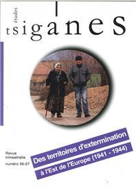 Etudes Tsiganes N° 56-57 Des Territoires D Extermination Fevrier 2016
